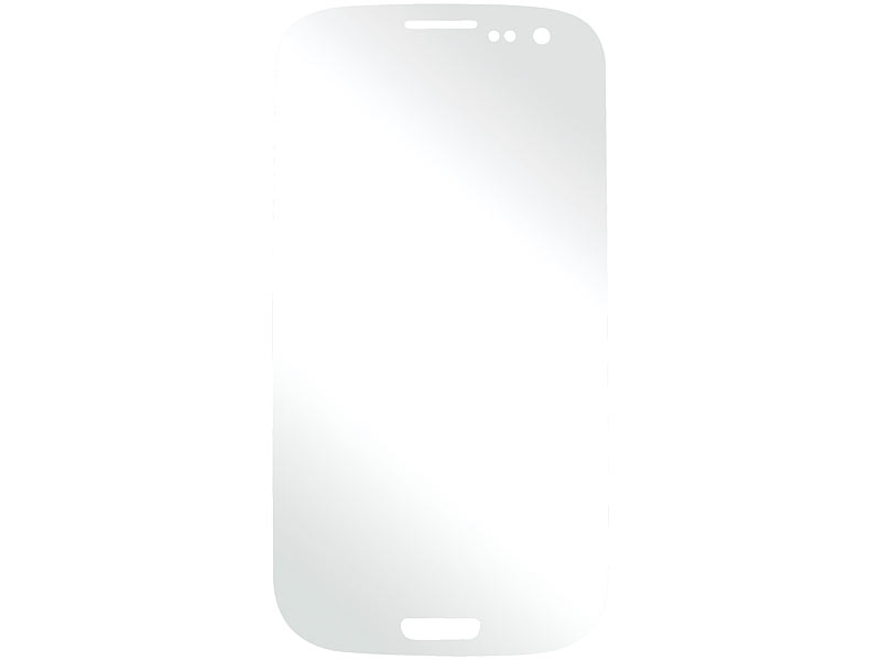 Somikon Anti Fingerprint-Display-Schutzfolie Samsung i9300 Galaxy S3