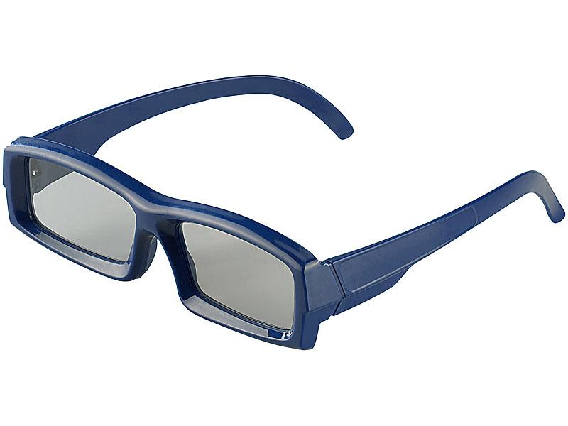 somikon hochwertige 3d brille mit polfiter technologie linear. Black Bedroom Furniture Sets. Home Design Ideas