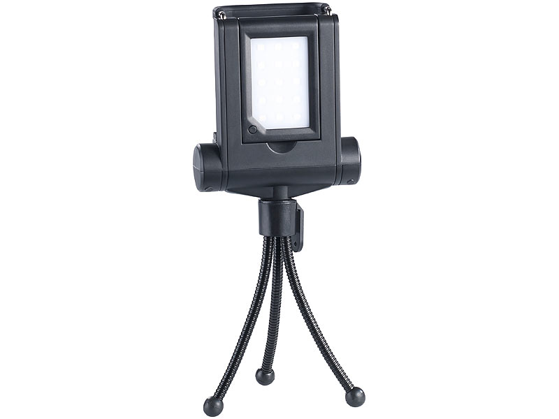 Somikon led licht f r smartphones selfie sticks fvl 315 for Foto lampen