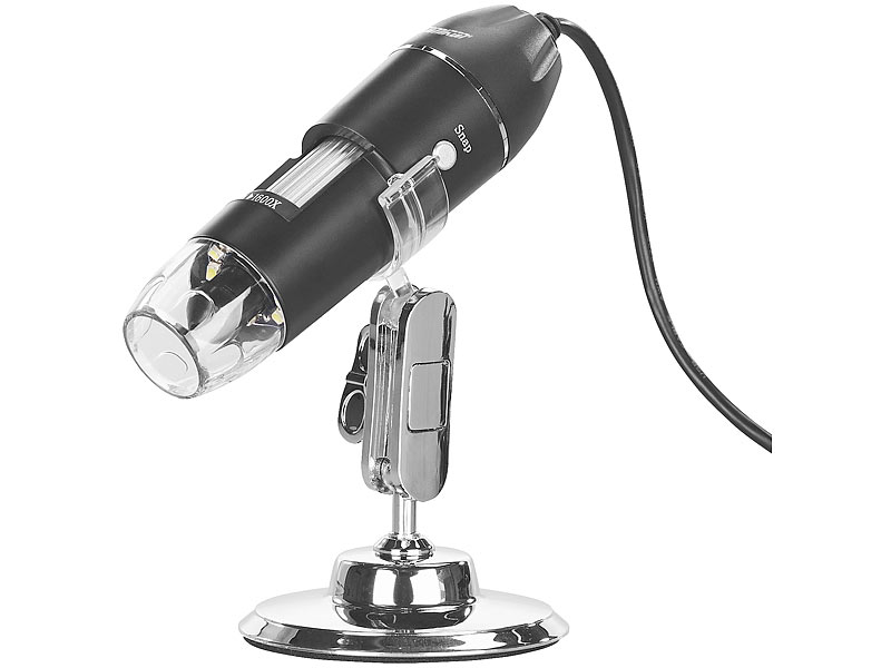 Somikon digitales usb mikroskop mit kamera & ständer 500 fache