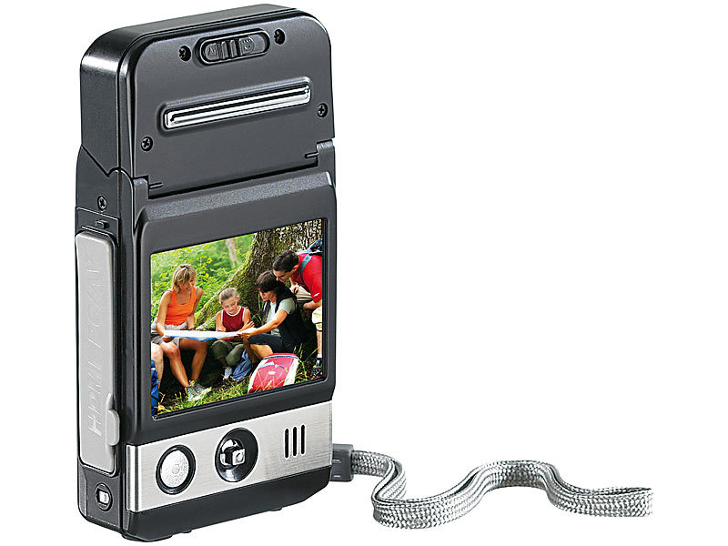 "Somikon HD-Camcorder ""C-1080.p"" mit 5,1-cm-Display (refurbished)"