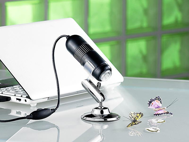 Somikon usb digital mikroskop kamera mit video aufzeichnung 2mp 500x