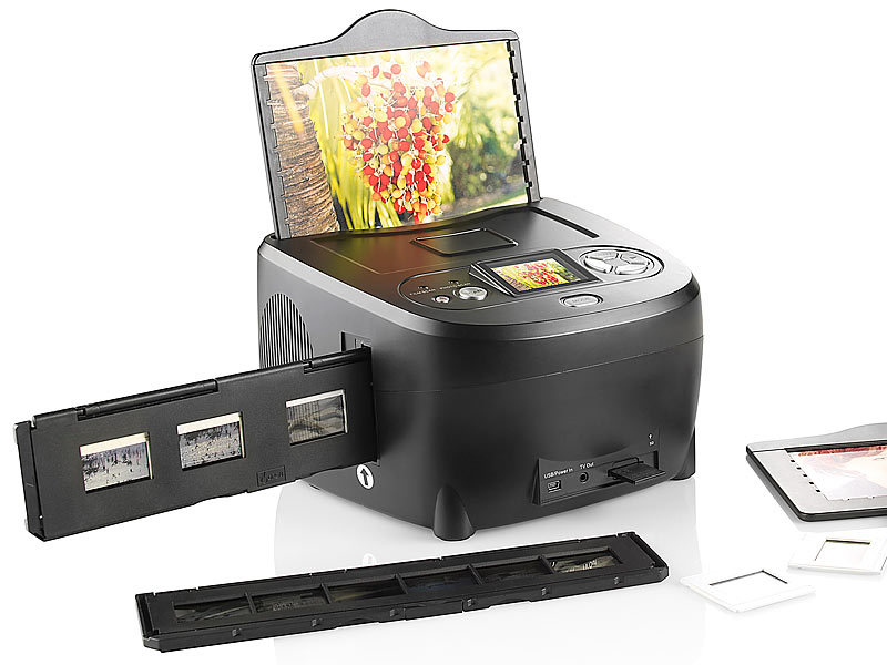 "3in1-Dia-/Foto-& Negativ-Scanner ""SD-1340.S"" (refurbished)"