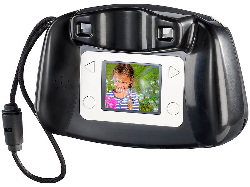 "Somikon Kinder-Digitalkamera ""DCM-300.toon"" (refurbished)"