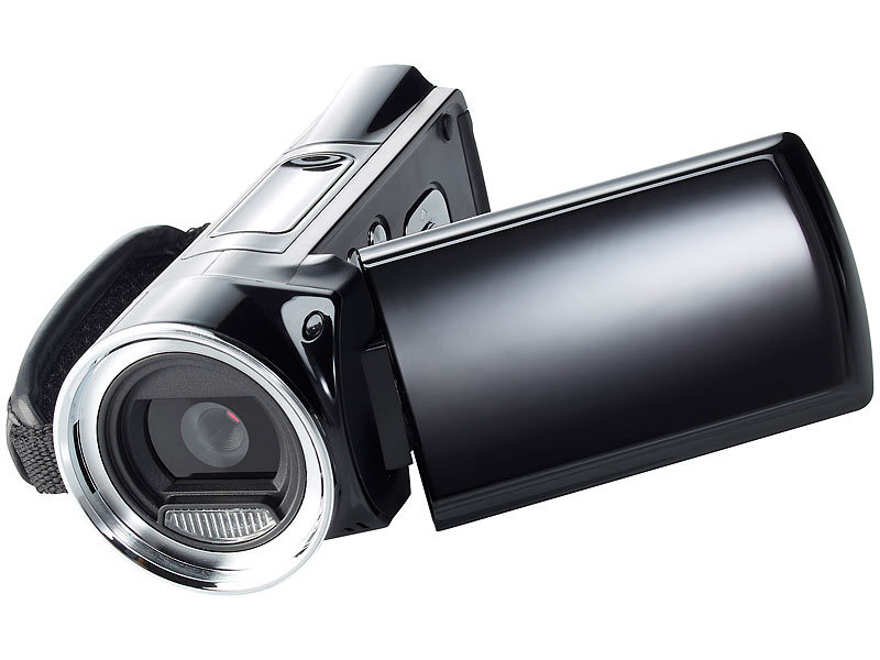 "Full HD-Camcorder ""DV-812.HD"" mit 2,7"" Display  (refurbished)"