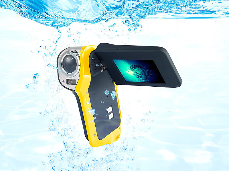 ; Unterwasser Kamera-Hüllen, Action-Cams Full HD Unterwasser Kamera-Hüllen, Action-Cams Full HD