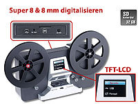 Somikon HD-XL-Film-Scanner & -Digitalisierer für Super 8 und 8mm (refurbished)