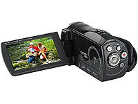 "Somikon Full-HD-Camcorder ""DV-853.IR"" mit Infrarot-LEDs, (refurbished); UHD-Action-Cams"