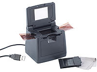 Somikon 2in1 Dia & Negativ-Scanner mit USB2.0-Anschluss (refurbished); Foto-, Negativ- & Dia-Scanner