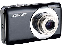 Somikon Digitalkamera DC-128.s mit 15 MP, 5x opt. Zoom, Stabilisator; Full-HD Camcorder Full-HD Camcorder Full-HD Camcorder