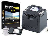 "Somikon 2in1 Dia & Negativ-Scanner mit 1,8""-TFT-Display, SD-Slot, USB; Foto-, Negativ- & Dia-Scanner"
