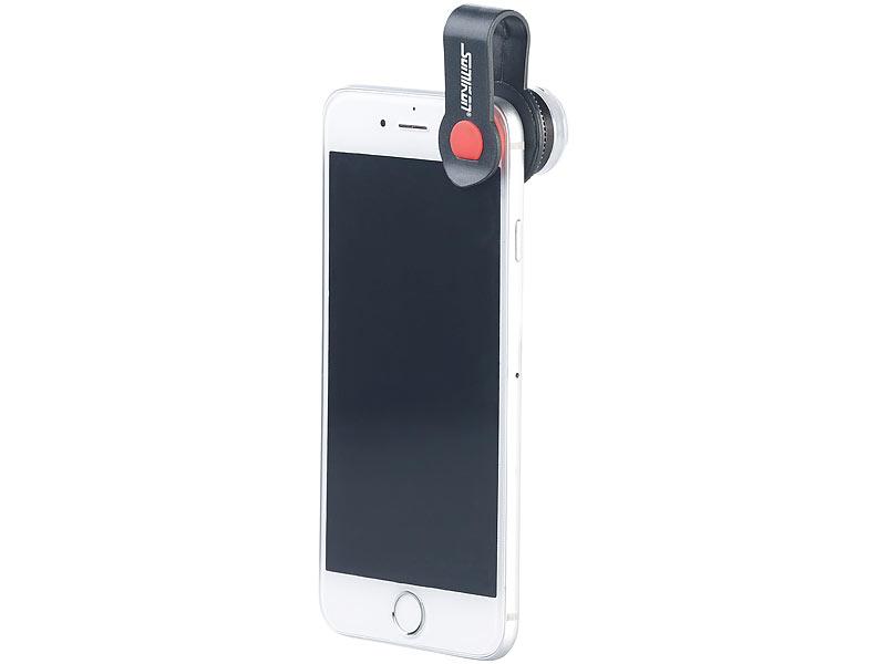 Somikon mikroskop vorsatzlinse cvl 30 für smartphones 30 fache
